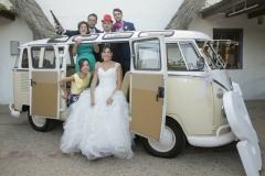 Photocall en la boda de Iván&Sara