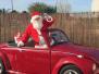 Llega Papa Noel a la Casa McDonals
