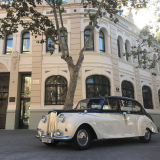 Nuestra limusina clasica Princesa. Vehiculo de alquiler para bodas y eventos.