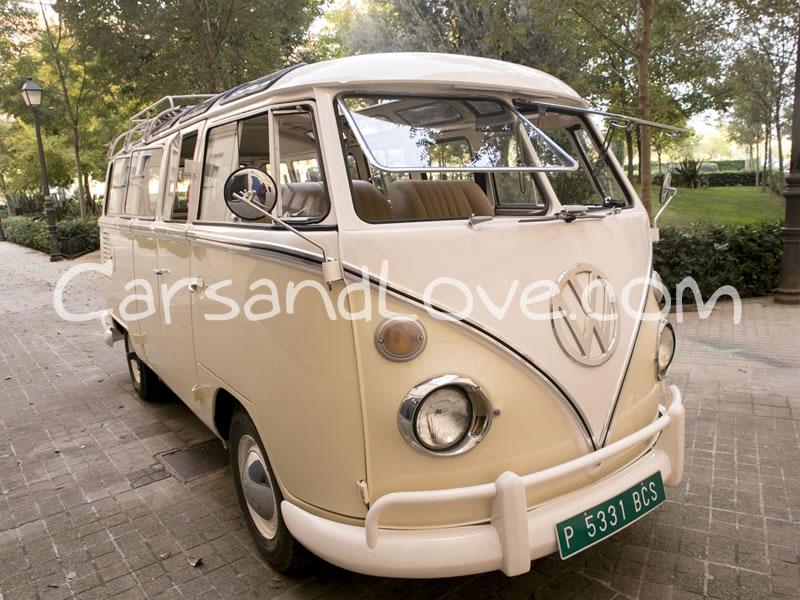 Furgoneta Volkswagen T1 para bodas